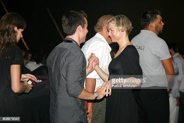 and Renee Zellweger attend HAMPTON SOCIAL at ROSS Presents BILLY JOEL in Concert Sponsored by SONY CIERGE at The Ross School on August 4 2007 in East...