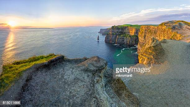 HQ and Res. Panorama of  Cliffs Of Moher, Liscannor, Ireland