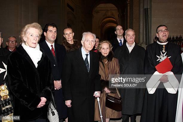 SAI and SAR Archiduchess Anna Gabriella of Austria SAI and SAR Archiduc Rodolpheof Austria SAR Princess Edouard of Lobkowicz SAS Prince Edouard of...