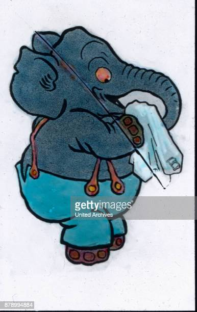And shows him how when he spotted With decency to brush the trunk Only one was not nice to him And what he saw he also sends from snout through the...