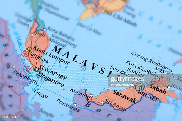 malaysia and singapore - sarawak state stock pictures, royalty-free photos & images