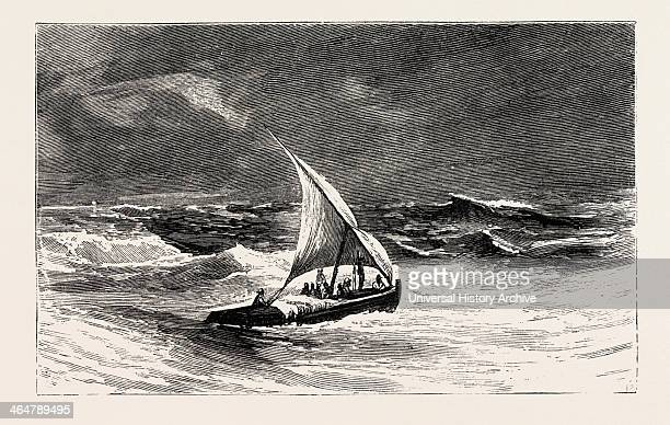 And Smuggled Across To Jeddah In A Slave Dhow Engraving 1884 Slave Trade Slave Slavery Slaves Social Issue Social Issues