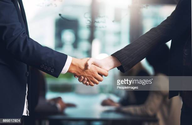 and so the deal was sealed - agreement stock pictures, royalty-free photos & images