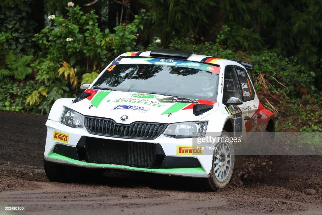 FIA ERC Azores Airlines Rallye 2017 - Graminhais : Nachrichtenfoto