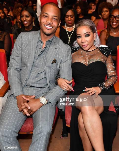 "And Tameka ""Tiny"" Harris attend 2019 Black Music Honors at Cobb Energy Performing Arts Centre on September 05, 2019 in Atlanta, Georgia."