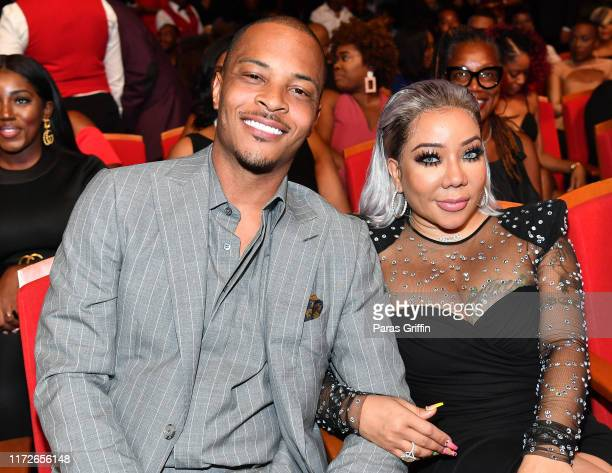"And Tameka ""Tiny"" Harris attend 2019 Black Music Honors at Cobb Energy Performing Arts Centre on September 05, 2019 in Atlanta, Georgia."