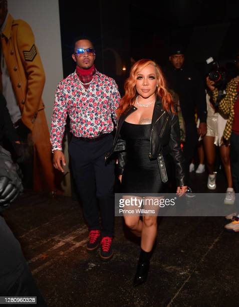 "And Tameka 'Tiny' Harris attend ""LIBRA"" Album release Party at Gold Room on October 16, 2020 in Atlanta, Georgia."