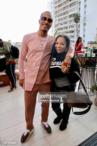 """And Tameka """"Tiny"""" Harris attends META - Convened by BET Networks at The Edition Hotel on February 20, 2020 in Los Angeles, California."""