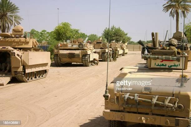 HMMWV, APC and Tanks