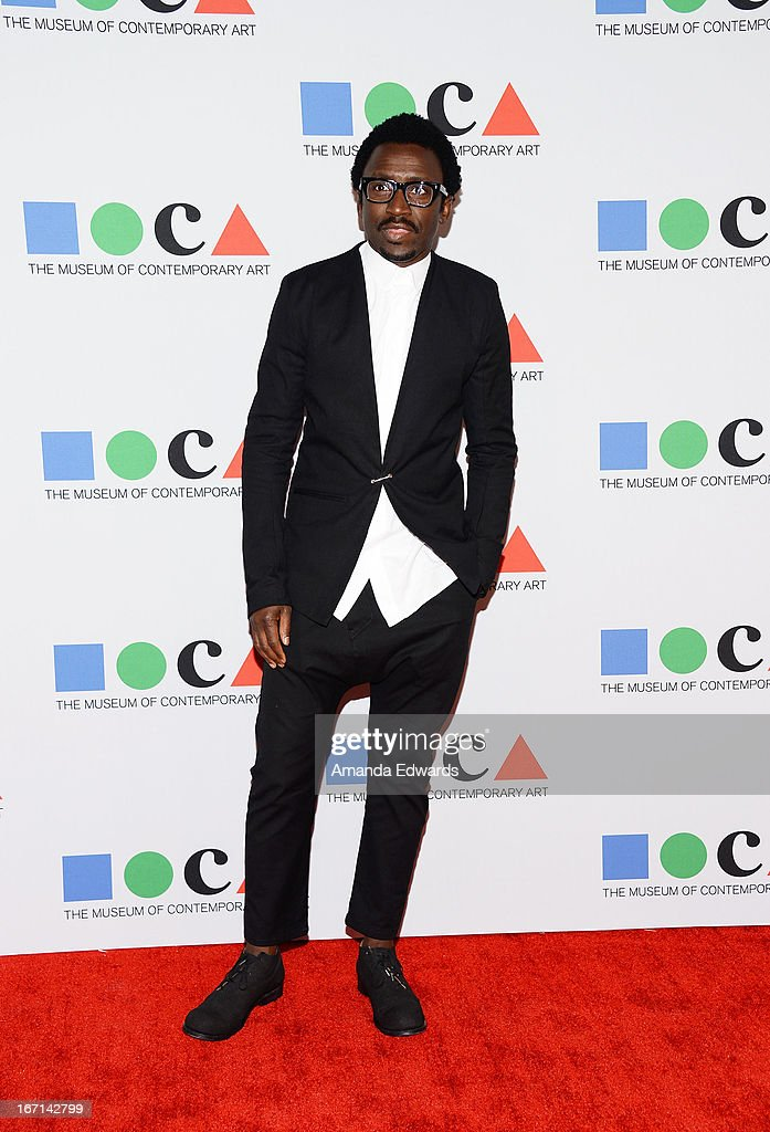 DJ and television personality Tony Okungbowa arrives at the 'Yesssss!' 2013 MOCA Gala, celebrating the opening of the exhibition Urs Fischer at MOCA Grand Avenue on April 20, 2013 in Los Angeles, California.