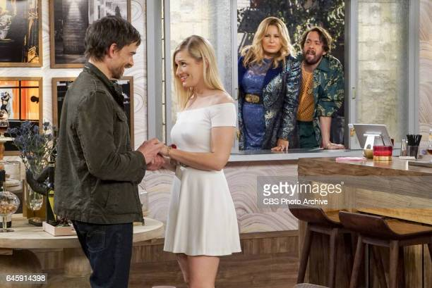 'And the Baby and Other Things' Pictured Bobby Caroline Channing Sophie and Oleg When Caroline encourages Bobby's sister Denise to quit her job the...