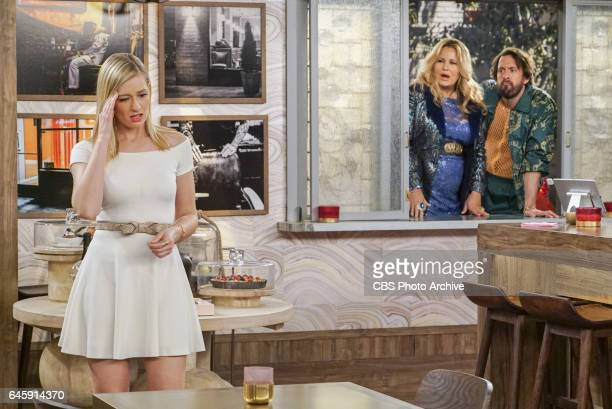 'And the Baby and Other Things' Pictured Caroline Channing Sophie and Oleg When Caroline encourages Bobby's sister Denise to quit her job the couple...