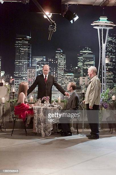 FRASIER And the Dish Ran Away with the Spoon Part 1 Episode 1 Pictured Jane Leeves as Daphne Moon Kelsey Grammer as Dr Frasier Crane David Hyde...