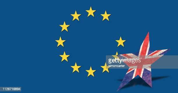 brexit. uk and the european union. politics - brexit imagens e fotografias de stock