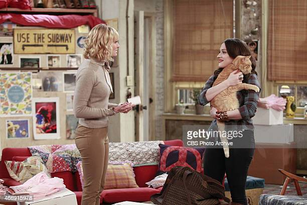 'And The Fat Cat' A handsome businessman returns Max and Caroline's missing cat Nancy who comes home with a big surprise on 2 BROKE GIRLS Monday...