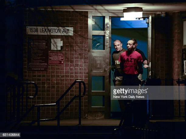And the FBI bust gang-related drug ring following massive police raid at three public housing developments across East Harlem. 04/19/16