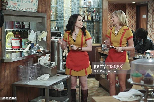 'And The High HookUp' Max pursues a handsome new waiter at The High despite Joe's 'no hookup' rule on 2 BROKE GIRLS Monday April 13 on the CBS...