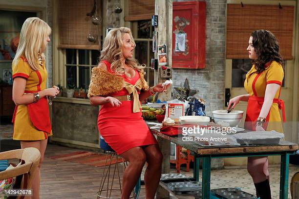 And The Messy Purse Smackdown Sophie discusses her online dating plans with Caroline and Max on 2 BROKE GIRLS Monday April 16 on the CBS Television...