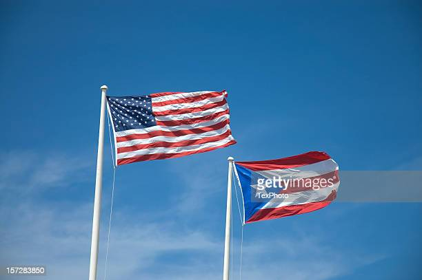 U.S. and the Puerto Rican Flag
