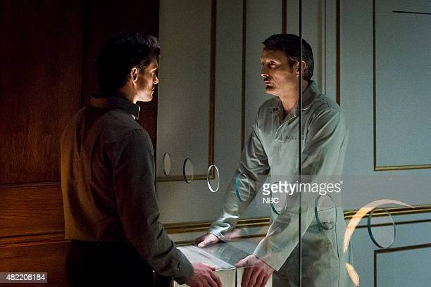 HANNIBAL and the Woman Clothed in the Sun Episode 310 Pictured Hugh Dancy as Will Graham Mads Mikkelsen as Hannibal Lecter