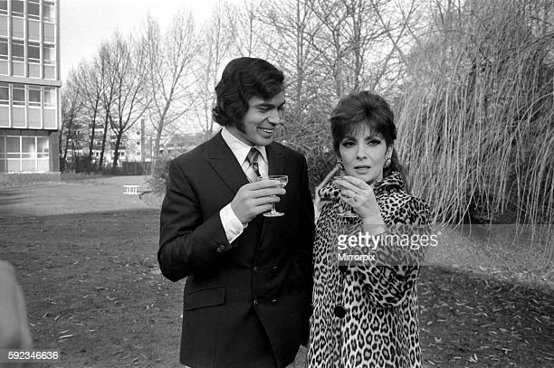 And together they drink a champagne toast to a successful partnership January 1970 7000084003