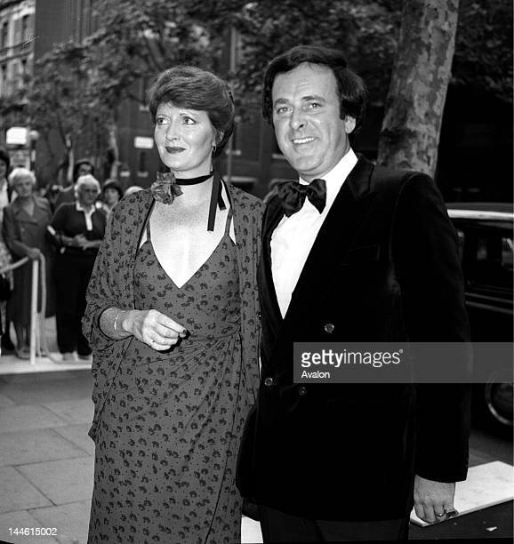 DJ and TV Presenter Terry Wogan and wife Helen photographed in July 1981