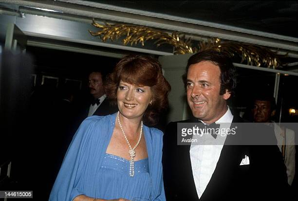 DJ and TV Presenter Terry Wogan and wife Helen photographed in July 1982