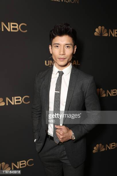 EVENTS NBC and Universal Television Emmy Nominee Celebration Mixer Pictured Manny Jacinto The Good Place