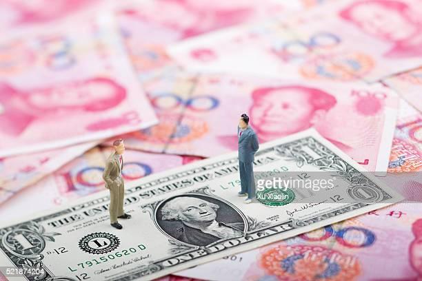 RMB and U.S. dollar exchange rate