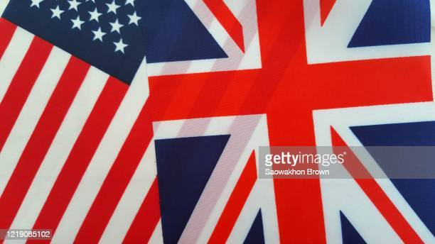 uk and usa flag together - election stock pictures, royalty-free photos & images