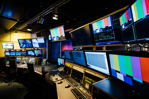 TV And Video Control Room 1127728974