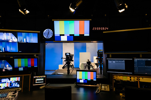 TV And Video Equipment At University 1127729119