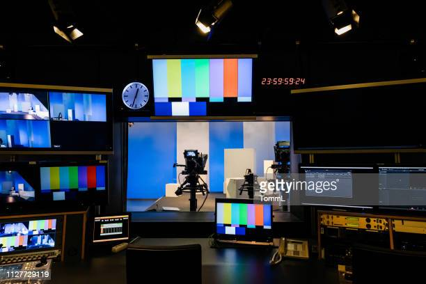 tv and video equipment at university - arts culture and entertainment stock pictures, royalty-free photos & images