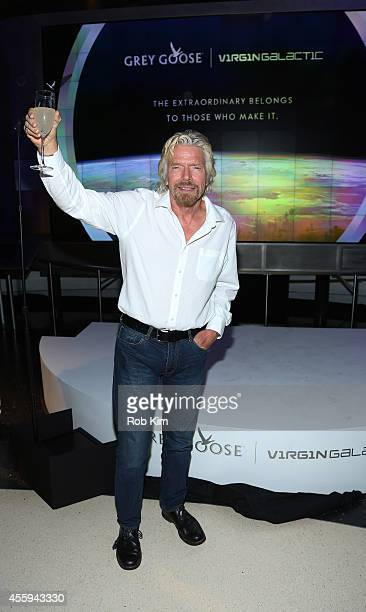 GOOSE and Virgin Galactic celebrate their new pioneering partnership and a shared belief to fly beyond with Sir Richard Branson on September 22 2014...
