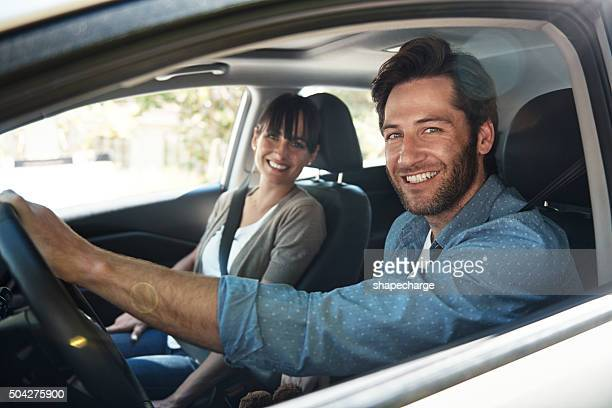 and we're off - car interior stock pictures, royalty-free photos & images