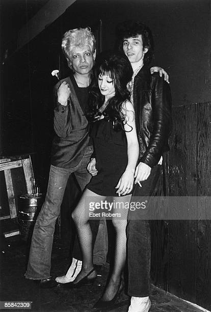 S KANSAS CITY Photo of MINK DE VILLE and Willy De VILLE and Alan VEGA and SUICIDE LR Alan Vega Toots and Mink De Ville