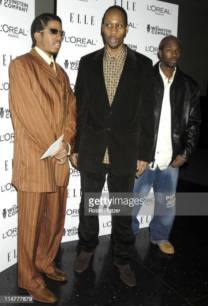 RZA and Wu Tang Clan during 'Derailed' New York City Premiere at Loews Theatre Lincoln Square in New York City New York United States