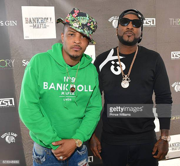 And Young Jeezy attends the Bankroll Mafia Album Release Party at Top Golf Midtown on April 22, 2016 in Atlanta, Georgia.