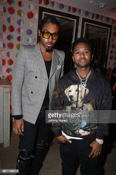 And Zaytoven Attends Remy Martin Presents Carte Blanche Merpins With Cellar Master Baptiste Loiseau And Super Producer Zaytoven at Whitby Hotel...