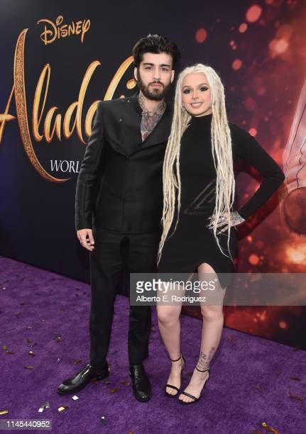 and Zhavia Ward attend the World Premiere of Disney's Aladdin at the El Capitan Theater in Hollywood CA on May 21 in the culmination of the film's...