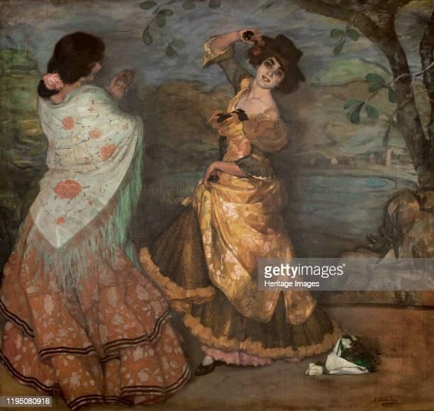 Andalusian dancers 1903 Private Collection Artist Zuloaga y Zabaleto Ignacio