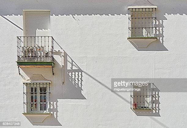 Andalusian facade