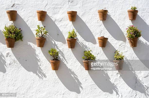 andalusian facade - granada spain stock pictures, royalty-free photos & images