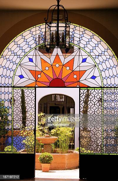 andalusian style patio