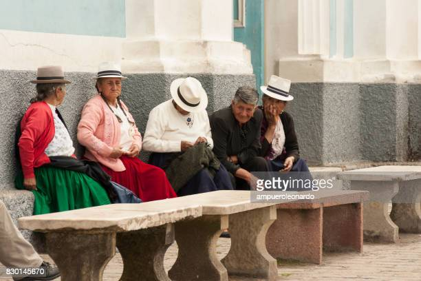 andean indigenous people - ecuador stock pictures, royalty-free photos & images