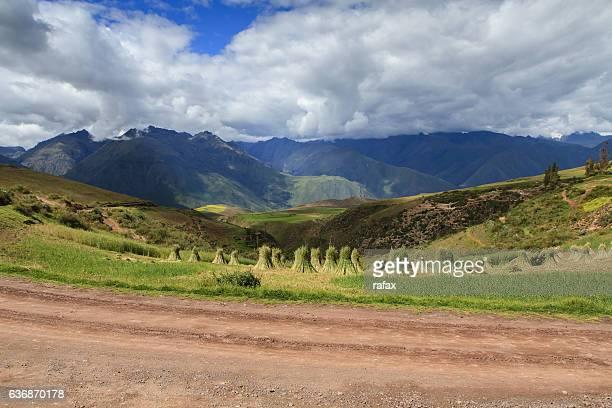 Andean landscapes around Cusco
