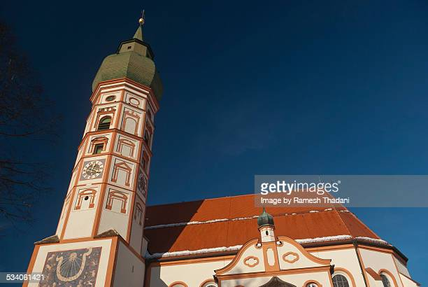 Andechs - typical Bavarian Church