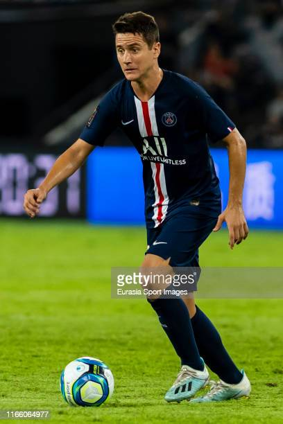 Ander Herrera Aguera of Paris Saint-Germain in action during the 2019 Trophee des Champions between Paris saint-Germain and Stade Rennais FC at...