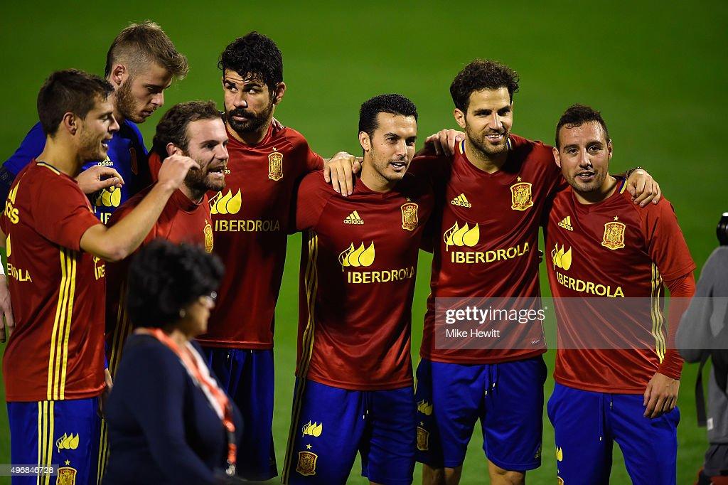 Spain Training Session : News Photo
