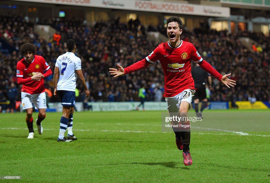 Preston North End v Manchester United - FA Cup Fifth Round : News Photo